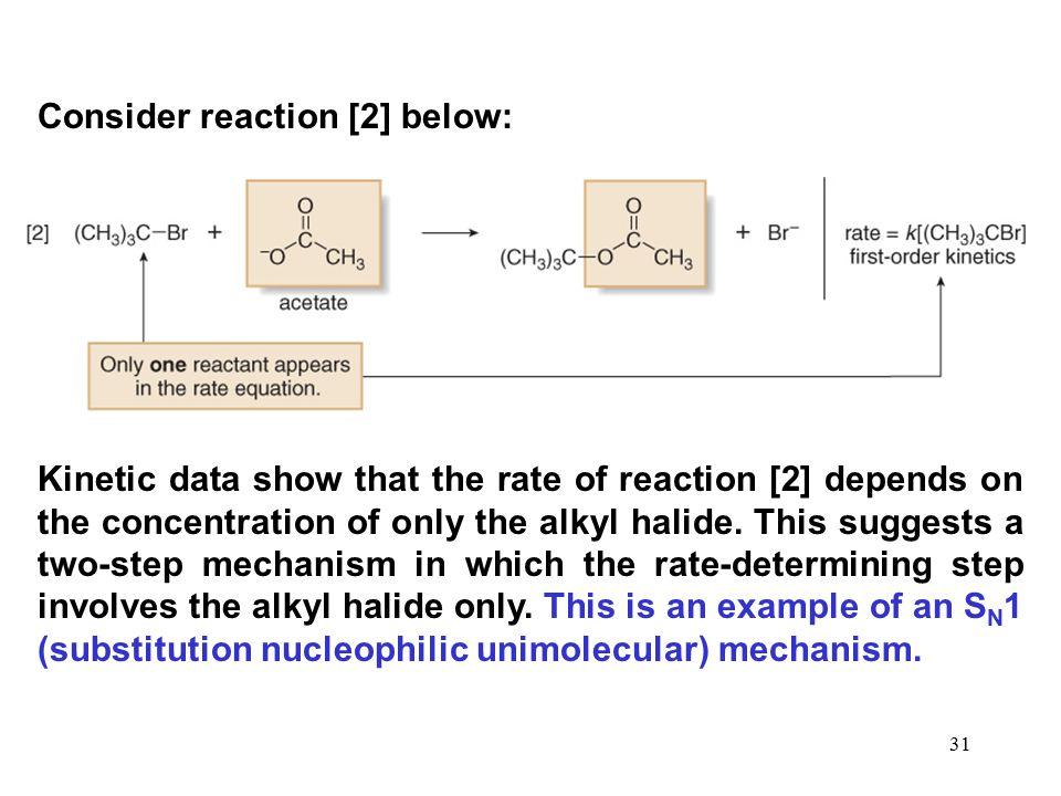Consider reaction [2] below: